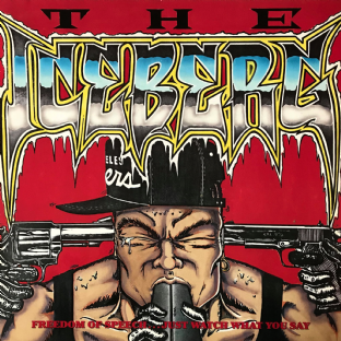Ice-T ‎- The Iceberg (Freedom Of Speech... Just Watch What You Say) (LP) (VG-EX/VG)